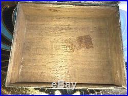 1903 Vintage Art Nouveau German OR Russian Silver Signed MK Cheroot Humidor Box