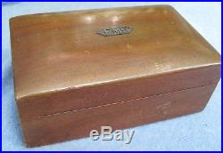 Alfred Dunhill Cigar Box Humidorrounded Top7-3/4 X 5 X 3