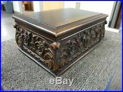 Antique Cigar Humidor Box E Kopriwa