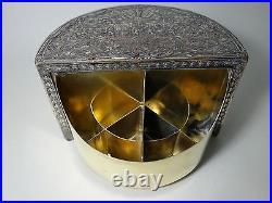 Antique Humidor Zigarettendose Cigar Cigarettes Box USA 1880 EG Webster