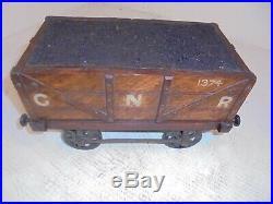 Antique Novelty Railroad Coal Carriage Cigar Box, Humidor, Railway cigarette