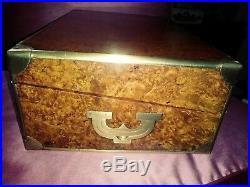 Antique gorgeous edwardian humidor cigar box 16 circa 1840 England