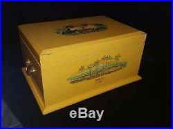 Arturo Fuente Chateau De La Fuente Collectible Large Humidor Cigar Box 1992