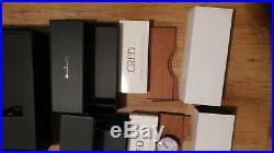 BLANCPAIN Uhrenbox. Edelholz, zum Humidor umbaubar. 3x Humidor set von BLANCPAIN