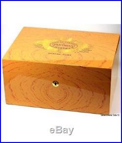 Box Moist Partagas Habanos Humidor 50 Cigars