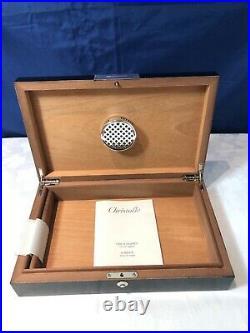 CHRISTOFLE America 4253850 Cave a cigares / Cigar Box Humidor NEW IN BOX