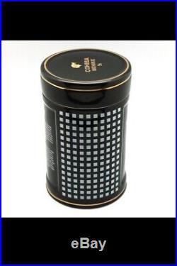 COHIBA Ceramic Travel Cigar Tube Jar 20-25 Fingers Humidor Box Outdoor Humidors