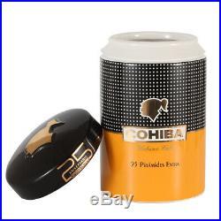 COHIBA Cigar Tube Holder Ceramic Cigars Humidor Jar Luxury Humidor Cigar Box