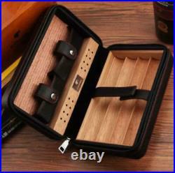 COHIBA Portable Humidor Cigar Case Cigar Cigar New Unused Humidifier Black