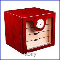 Cedar Wood 75 Cigar Humidor Case Box With Hygrometer Humidor For COHIBA BEHIK
