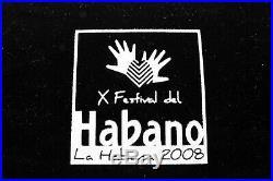 Cigar Humidor Festival del HABANO 2008 Limited Edition Classy Havana Cigar Box