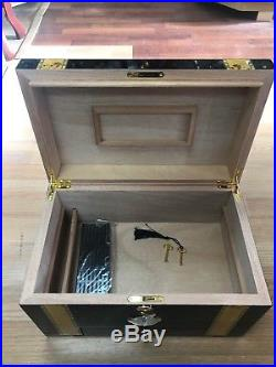 Cigar Humidor High Polish Handmade Brand New In Box