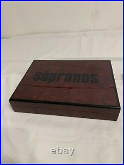 Cigar Humidor Official HBO 2006 The Sopranos Box F5