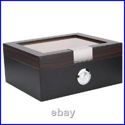 Cigar Travel Humidor Case Cedar Wood Portable Cigar Humidor Holder Storage Box