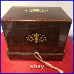 Cigar box (humidor), France, late 19th century