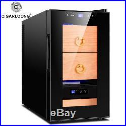 Cigar cooler refrigerator mini electric cigar humidors case box cabinet FK-80C