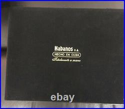 Cohiba Behike BHK 54 Box EMPTY humidor etc mint Cigars RARE Habanos