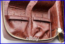 Cohiba Brown Cedar Wood 4 Tube Holder Travel Cigar Case Humidor