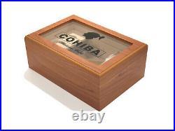 Cohiba Cigar Humidor Box + Humidifier & Hygrometer NEW RARE FREE DELIVERY