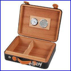 Cohiba Classic Cerdar Wood Cigar Case Humidor Cigar Box 25-40 Holder Humidifier