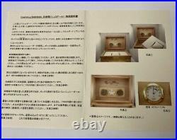 Cuervo Y Sobrinos Cigar Humidor Jewelry Watch Box