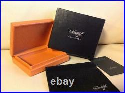 Davidoff Cigarillo Humidor Cigar Tobacco Box Case pre-owned withBox