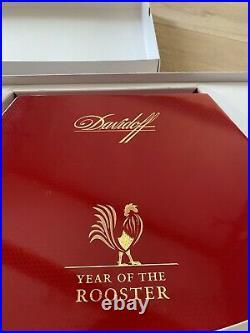 Davidoff year of rooster cigar box Humidor more beautiful then cohiba behike