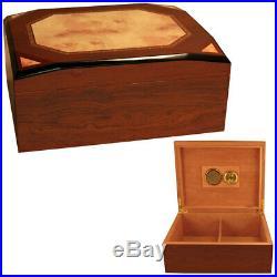 Diamond Cigar Box Humidors for 50 Cigars