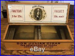 Don Julian Cigar Display Humidor The Aristocrat Of Tampa