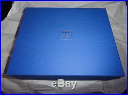 Elie Bleu Alba Orange Sycamore Humidor 75 Ct new in the original box