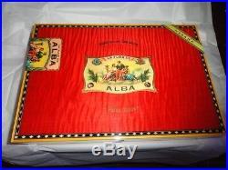 Elie Bleu Alba Red Sycamore Humidor 200 ct