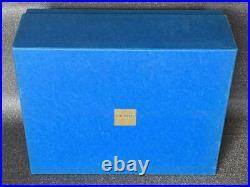 Elie Bleu Cigar Tobacco Humidor Case Box 30x25x11cm