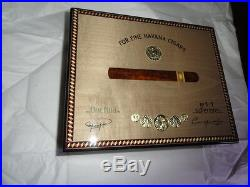 Elie Bleu Medals Grey Sycamore Humidor 75 Count new in original box