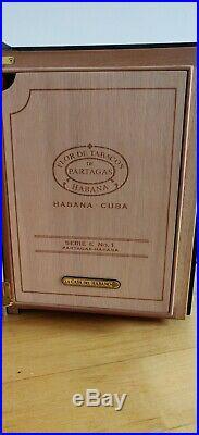 Empty Cigar Box Humidor Partagas Series E1 Collectors Item
