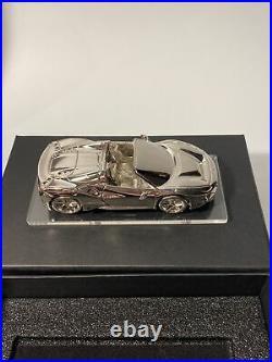 Ferrari 488 Pista Spider Carbon Fiber Cigar Humidor Key Box Rare Gift Model