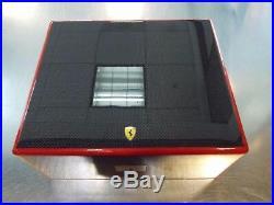 Ferrari Carbon Fiber Cigar Box Humidor Genuine Ferrari