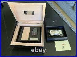 Ferrari Carbon Fiber Cigar Humidor Box, UNOPENED, 488 Pista Model, Key Holder
