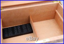 Fine Spanish Cedar Wood Cigar Box Humidors With Humidifier hygrometer GLS967