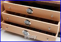 Fine Spanish Cedar Wood Cigar Box Humidors With Humidifier hygrometer GLS972