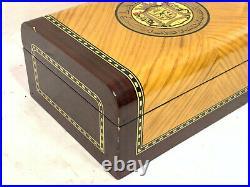 Flamenco Las Palmas Cigar Box Humidor Maple & Cedar