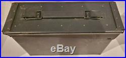 Florida Ducks Unlimited Ammo Can Ammunition Box Cigar Humidor ONLY 62 Made, RARE