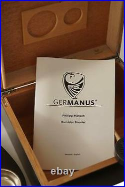 GERMANUS Humidor of The Cigar With The Box And The Ashtray And Cutter Of Cigar