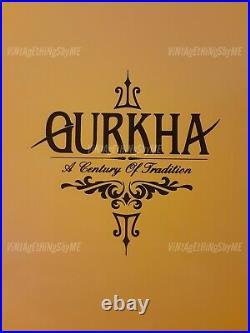 GURKHA CIGAR Connecticut XO 125th Anniversary Special LIMTED EDITION BOX HUMIDOR