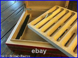 Genuine Ferrari Cigar Box Humidor Limited Edition Extremely RARE Sold Out item