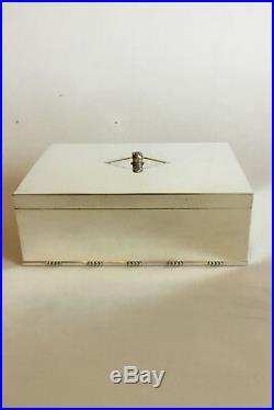 Georg Jensen Sterling Silver Cigar Box / Humidor No 329B