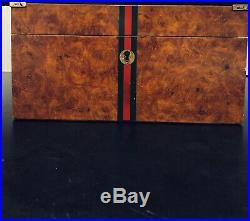 Gucci Vintage 1970s Humidor Box