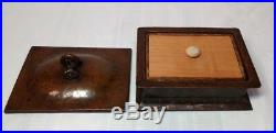 Gustav Stickley, Hammered Copper Humidor Box, Cigars, Tobacco, Nice Patina