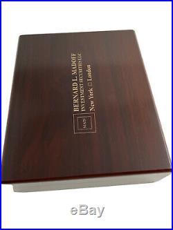 HTF Bernard L Madoff Investment Securities LLC Desktop Humidor