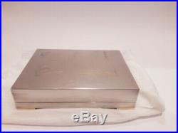 H BOX HERMES PARIS JEWELRY CASE, CIGAR HUMIDOR. No ashtray birkin