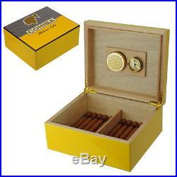 Hand Made Cohiba 25+ Count Cigar Humidor Box Cabinet Humidifier Hygrometer 20